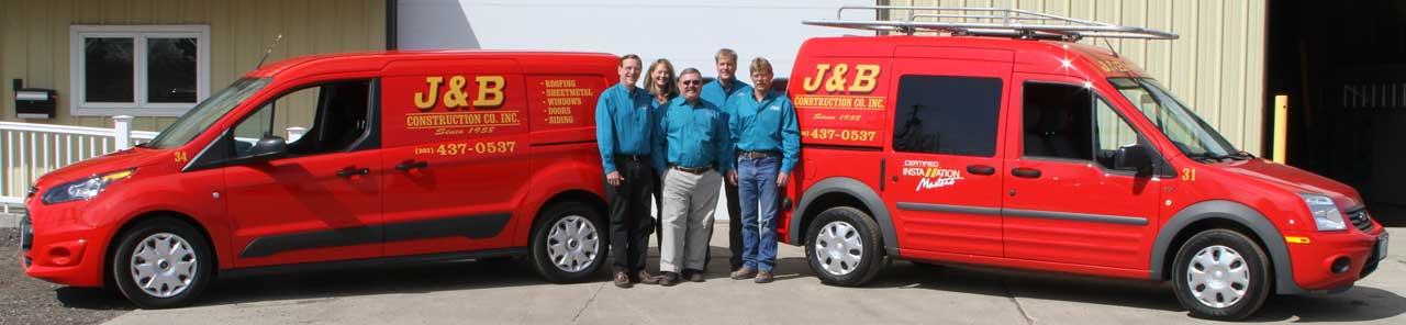 Meet the J&B Team … here to serve you!