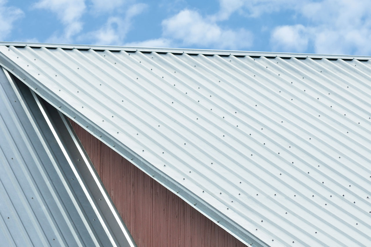 Metal Siding Sheets : Pin corrugated galvanized sheet metal house roof on pinterest