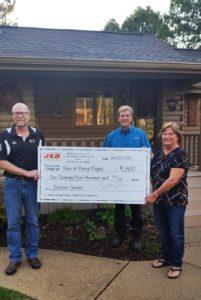$1,500 contest drawing J&B Construction Company