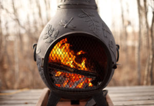 patio heater How to Make the Most of a Deck During Colder Months